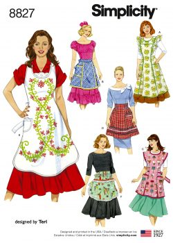 Simplicity Sewing Pattern - 8827-A
