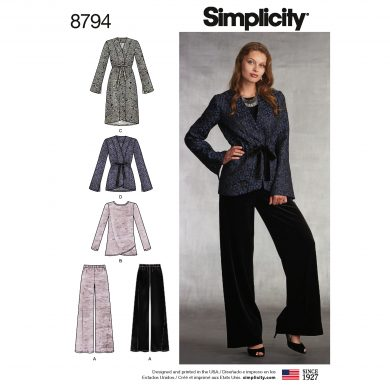 Simplicity Sewing Pattern - 8794-H5