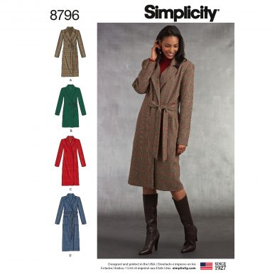Simplicity Sewing Pattern - 8796-U5