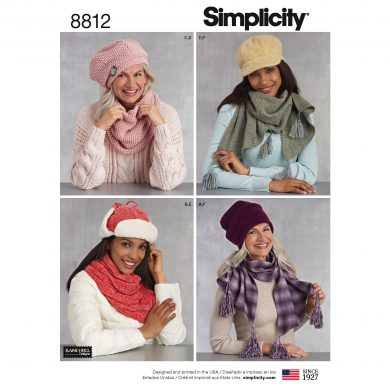 Simplicity Sewing Pattern - 8812-A