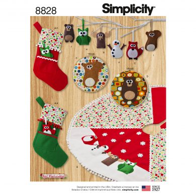 Simplicity Sewing Pattern - 8828-OS