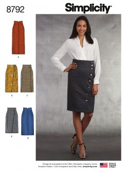 Simplicity Sewing Pattern - 8792-H5