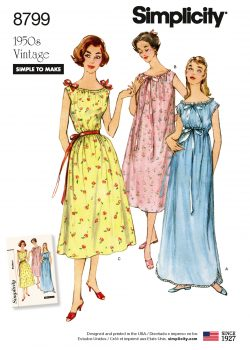 Simplicity Sewing Pattern - 8799-A