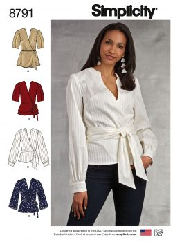 Simplicity Sewing Pattern - 8791-H5