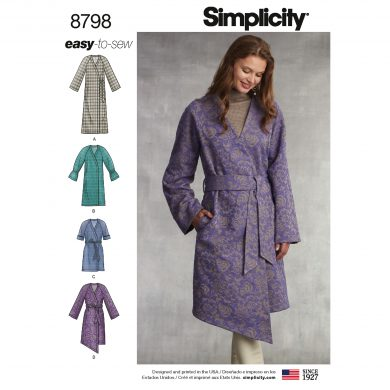 Simplicity Sewing Pattern - 8798-U5